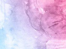 Fond tiré par la main d'aquarelle de fleur colorée, illustration de trame illustration stock