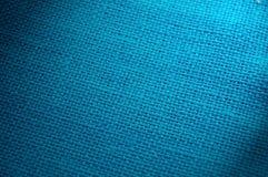 Fond tissé bleu Image libre de droits