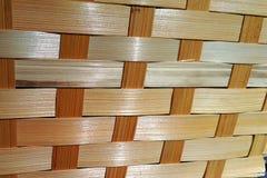 Fond tissé par bois Image libre de droits