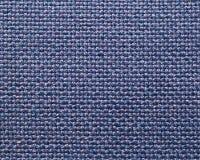 Fond tissé pourpré bleu de tissu Image libre de droits