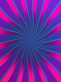 Fond tordu de rayons Image stock