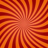 Fond tordu orange rouge Photo stock