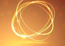 Fond tournant d'élément de tornade lumineuse Image stock
