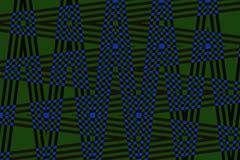 Fond très beau et original avec des contrôleurs de zigzag de couleurs bleu-foncé et foncées ! Image stock