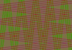Fond très beau et original avec le zigzag de couleurs rouges et vertes ! Photo stock