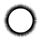 Fond tramé abstrait de cercle Photographie stock