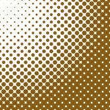Fond tramé abstrait géométrique de modèle de point - dirigez l'illustration Images libres de droits