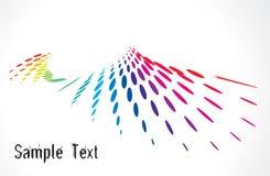 Fond tramé multicolore Photos libres de droits