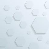 Fond transparent avec des éléments d'hexagone illustration de vecteur