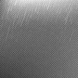 Fond transparent de calibre de pluie ENV 10 Photo libre de droits