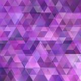 Fond triangulaire abstrait géométrique Photographie stock libre de droits
