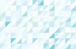 Fond triangulaire de modèle coloré par bleu Image libre de droits