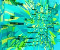 Fond triangulaire géométrique Image stock