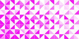 Fond triangulaire lumineux Papier peint de beauté et de mode Texture triangulared par vecteur Contexte géométrique avec illustration libre de droits