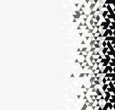 Fond triangulaire monochrome illustration de vecteur