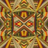 Fond tribal avec l'effet optique illustration de vecteur