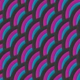 Fond tricolore abstrait onduleux de vecteur Photographie stock
