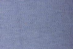 Fond tricoté bleu-clair de laine Image stock