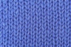 Fond tricoté de laines Images libres de droits
