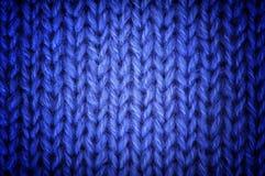 Fond tricoté de laines Photos libres de droits