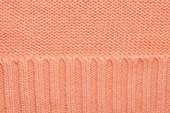 Fond tricoté de texture de laine Images stock