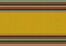 Fond tricoté lumineux Image libre de droits