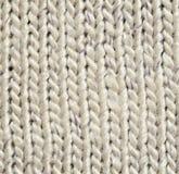 Fond tricoté par gris Image stock