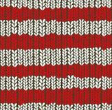 Fond tricoté par Noël. Photos libres de droits