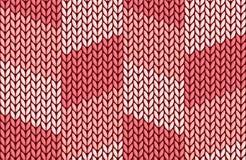 Fond tricoté rose sans couture illustration libre de droits
