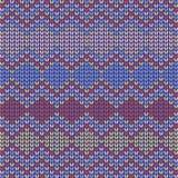 Fond tricoté sans couture coloré Images libres de droits