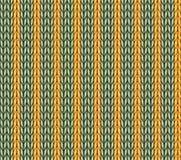 Fond tricoté sans couture de modèle de vecteur Photo stock