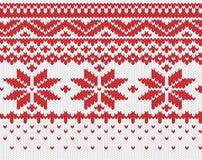Fond tricoté sans joint Image libre de droits