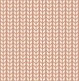 Fond tricoté sans joint Texture de laine Photos libres de droits