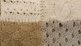 Fond tricoté de texture Photo libre de droits