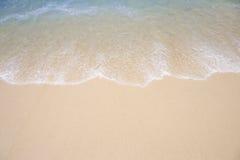 Fond tropical de plage Photo stock