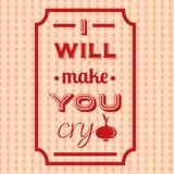 Fond typographique de citation Photo stock