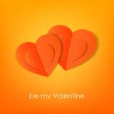Fond typographique de jour de valentines avec Photographie stock