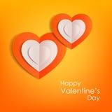 Fond typographique de jour de valentines avec Photo libre de droits