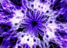 Fond ultra-violet de papier peint de style d'effet Photo stock
