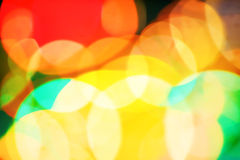 Fond unfocused abstrait de lumières Photographie stock libre de droits