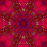 Fond unique de motif numérique abstrait de kaléidoscope, belle conception, oriental illustration libre de droits