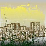 Fond urbain Images stock