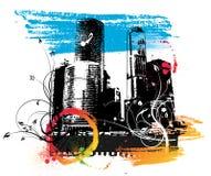 Fond urbain Images libres de droits