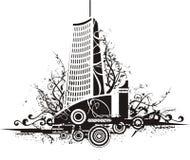 Fond urbain Photos libres de droits
