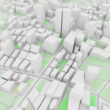 Fond urbain abstrait illustration stock