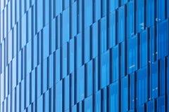 Fond urbain architectural géométrique Mur de verre d'un bâtiment moderne à Mexico image libre de droits