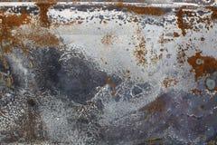 Fond urbain en métal Image libre de droits
