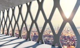 Fond urbain et structure moderne Photos libres de droits