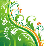 Fond végétatif. illustration libre de droits