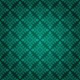 Fond floral vert élégant Image libre de droits